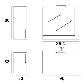 Nexus composizione 1 misure