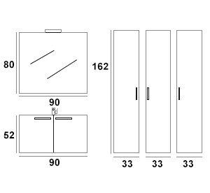 Nexus composizione 3 misure
