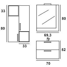 Nexus composizione 6 misure